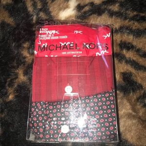 Micheal Kors 3 Pack Boxers